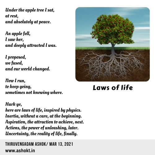 Laws of life poem