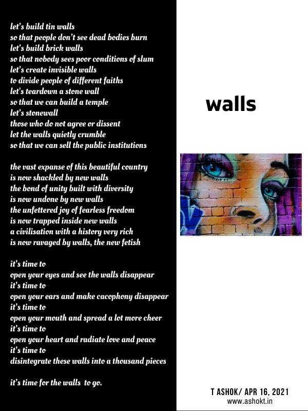 walls poem