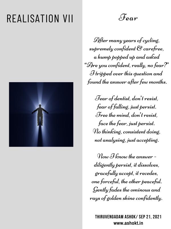 Realisation of fear